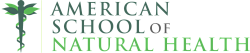 American School of Natural Health Logo