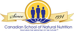 Canadian School of Natural Nutrition Logo